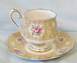 Royal Albert Devonshire Lace Demitasse Cup & Saucer from 1935 - $35.53