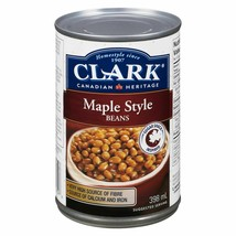 12 Clark Maple Style Baked Beans 398ml/14oz Canada ALWAYS FRESH  - $49.25