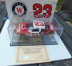 Jimmy Spencer # 23 Winston Red No Bull Revell 1/24 DieCast Race Car w/ S... - $34.43