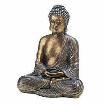 Accent Plus Buddha Statue Meditation, Antique Decoration Sitting Buddha Statue S - $107.39