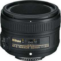 Nikon AF-S NIKKOR 50mm f/1.8G Lens *2199* 58mm Snap-On Lens 0.15x Magnif... - $221.76