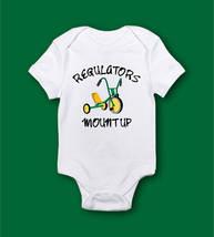 Regulators Mount Up Graphic Onesie - $17.99+