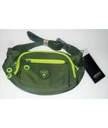 Yeso Waist Pack Fanny Pack Army Green Travel Hiking Men Women NEW - $9.50