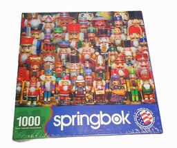 """Sprongbok's 1000 Piece Jigsaw Puzzle Nutcracker Collection 24"""" x 30"""" Sealed New - $22.49"""