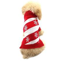 NACOCO Dog Snow Sweaters Snowman Sweaters Xmas Dog Holiday Sweaters New ... - $10.88