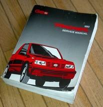 1993 Geo Tracker Suzuki Sidekick Service Manual, Factory issued. - $20.00