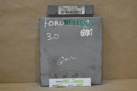 1997 Ford Taurus Sable 3.0L Engine Control Unit ECU F7DF12A650EB Module 09 6C3 - $9.89
