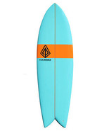 "Paragon Retro Fish 6'0"" Blue-Orange-Blue Surfboard - $400.00"