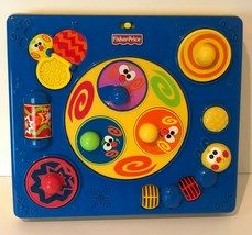 Fisher Price Vintage Bee Bop Buildin Spinning Replacement Activity Table... - $19.99