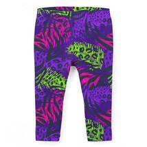 Neon Animal Print Girls Leggings - $37.99+