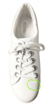MICHAEL Michael Kors Women's Halle Sneaker Optic White 8.5 M New w/ Defect image 2
