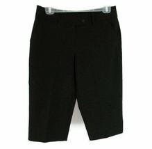 Worthington Women's Modern Fit Capri's Cropped Dress Pants Size 8P Black - $7.28
