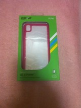Cricket Cell Phone CASE--LG X POWER--ALGF5134----PINK----FREE SHIP---NEW - $17.21