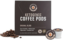 Rapid Fire Ketogenic Keto Coffee Pods High Performance Energy Metabolism... - $19.45