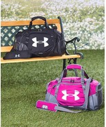 Under Armour Undeniable Duffel Bag - Choose Black or Pink  - $51.99