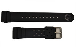 Rubber Watch band STRAP For SEIKO Divers Z-22 STRAP Watch with 2 pin 22mm  heavy - $20.95