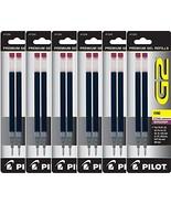 Value Pack of 6 - Pilot G2 Gel Ink Refills for Rolling Ball Pen, Fine Po... - $14.11