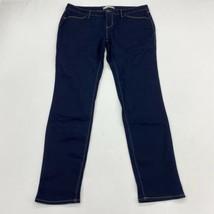 Old Navy Denim Jeans Juniors 17 Blue Skinny Leg Slim Fit Low Rise Washed... - $18.95