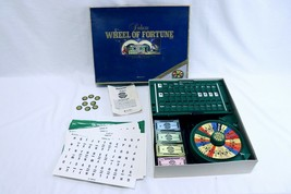 ORIGINAL Vintage 1986 Pressman Deluxe Wheel of Fortune Board Game - £21.59 GBP