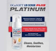 OCuSoft Platinum Lid Scrub Foaming Eyelid Cleanser 50mL Free shipping