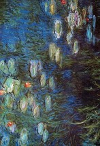 Water Lillies by Claude Monet - Art Print - $19.99+