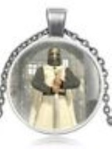 Knights Templar Necklace - Warrior - $10.99