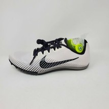 Nike Track Spikes Zoom Rival M Platinum AH1021-001 Women's Size 8.5 - $29.65