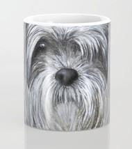 Coffee Mug Cup 11oz or 15oz Made USA Dog 138 Shih Tzu art painting by L.... - $17.99+