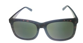 Kenneth Cole Reaction Mens Soft Square Shiny Tortoise Sunglass KC1324 52N image 2