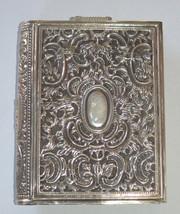 Judaica Vintage Silver Filigree Tzedakah Charity Box Book Design image 6