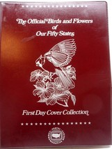 USPS The Official Birds And Flowers Of Our Fifty States, Post Marked Env... - $44.53