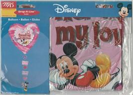 "M & D Disney ""Sending All My Love"" 34"" x 21"" Drop-A-Line Foil Balloon - $13.21"