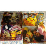 Pokemon Center Limited Halloween Clear card postcard 4 pieces set toy/ho... - $26.70