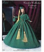 1866 Atlanta Belle Outfit for Barbie GWTW Paradise 33 Crochet PATTERN RARE - $7.17