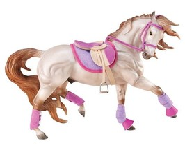 <>< Breyer 2050 English Riding Set Hot Colores very well done horse not ... - $24.18