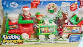 Fisher Price Little People Musical Christmas Train - $49.99