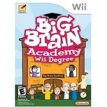 Big Brain Academy: Wii Degree by Nintendo [video game] - $10.86