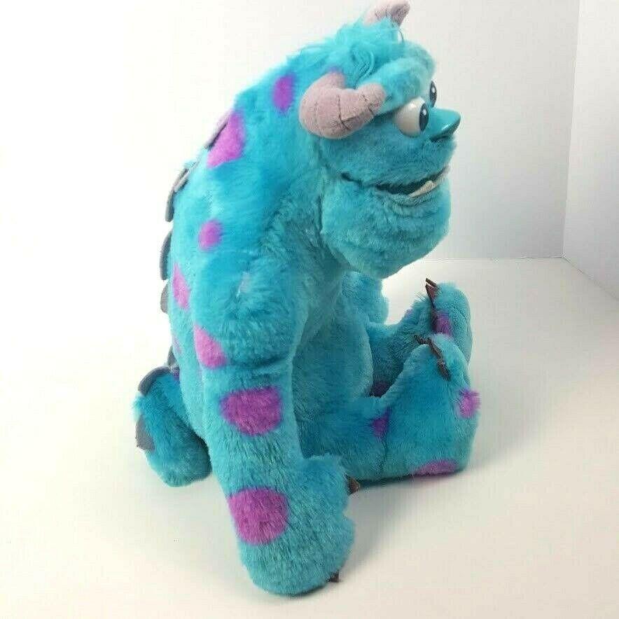 "Disney Pixar Monsters Inc University My Scare Pal Sulley Talking Plush Sully 13"""