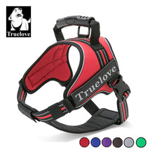 Truelove® Pet Dog Heavy Duty Choke Free Reflective Harness Vest Mesh Bac... - $29.60+