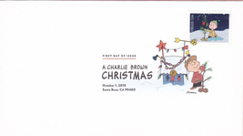 US #5021-30 2015 First-Class Issue Set Charlie Brown Snoopy Contemporary Christm image 10