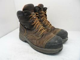 "TIMBERLAND PRO Men's 8"" Pro Endurance HD CTCP Work Boots A1Q5U Brown Siz... - $56.99"
