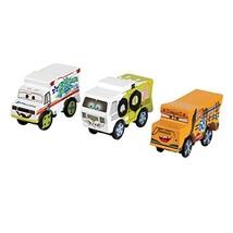 Disney KIDKRAFT Pixar Cars 3 Thunder Hollow 3pk Wooden Cars with Dr. Dam... - $16.95