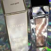 NIB Jouer Longwear Lip Creme ROSE GOLD Metallic With Matte Finish 6mL image 2