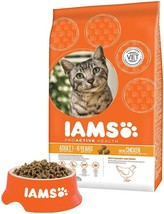 Iams Dry Adult Cat Food with Chicken Proactive Nutrition For Healthy Eye... - £12.31 GBP