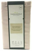 Threshold Performance Pillowcases King 400 Thread Count Petal Pink image 2