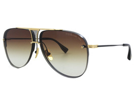 Dita Decade TWO DRX-2082-B-BLK-GLD-62 Mirror Sunglasses 62-12-136 New w.... - $910.75