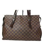 Auth LOUIS VUITTON Chelsea Damier Canvas Tote Bag, Shoulder Bag LT15391L - $679.00