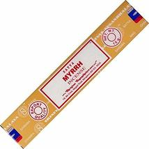 ABN Fashion Satya Myrrh Sticks Incense Natural Fragrance Hand Rolled Ind... - $17.54