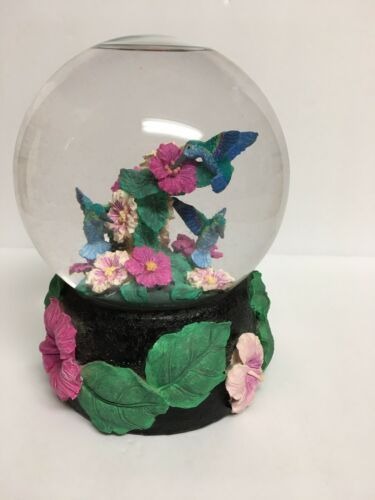 Primary image for Vintage Hummingbird Musical Snow Globe San Francisco Music Box Company