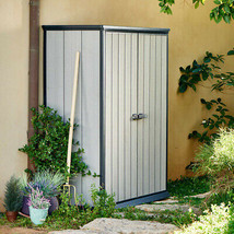 Keter High Store Vertical Shed 55.24 cu. ft. Storage Capacity No Tax Mos... - $374.99